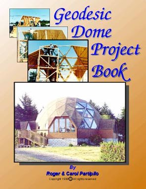 Geodesic Dome Home Project Book on CD-rom Cover